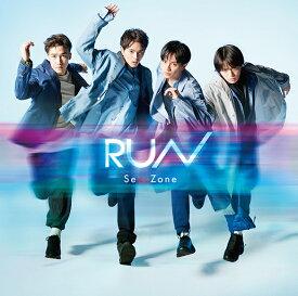 Sexy Zone / RUN (初回限定盤B) (CD+DVD) 2020/8/5発売 JMCT-19002