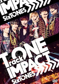 【DVD】 SixTONES/TrackONE -IMPACT- (通常盤) (2DVD+8Pリーフレット) SEBJ-3 2020/10/14発売 ストーンズ