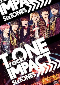 【Blu-ray】 SixTONES/TrackONE -IMPACT- (通常盤) (2Blu-ray+8Pリーフレット) SEXJ-3 2020/10/14発売 ストーンズ