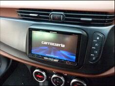 【送料無料】アルファロメオ Alfa Romeo ジュリエッタ 2DIN ナビ取付キット(ブラック) CANバスアダプター同梱タイプ 【AG2-02BK-CAN】2014/06モデル〜