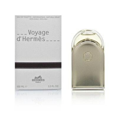 正規品【HERMES】VOYAGE D'HERMES EDT SP 100ml Refillable MEN'S【エルメス】ヴォヤージュ ドゥ エルメス オーデトワレ・スプレータイプ 100ml (レフィラブル) [ユニセックス・UNISEX・香水・フレグランス]