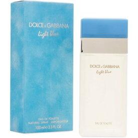 正規品【Dolce & Gabbana】Light Blue EDT 100ml WOMEN'S【ドルチェ & ガッバーナ】ライトブルーオードトワレ スプレータイプ 100ml【香水・フレグランス:フルボトル:レディース・女性用】【D&G香水】【ライトブルー 香水】