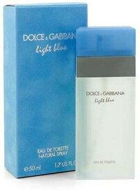 正規品【Dolce & Gabbana】Light Blue EDT 50ml WOMEN'S【ドルチェ & ガッバーナ】ライトブルー オードトワレ スプレータイプ 50ml【香水・フレグランス:フルボトル:レディース・女性用】【D&G香水】【ライトブルー 香水】