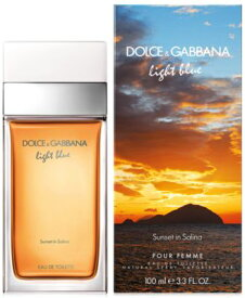 正規品【D&G】Light Blue Sunset In Salina EDT 100ml WOMEN'S 【ドルチェ&ガッバーナ】ライトブルーサンセット イン サリーナ オードトワレ 100ml [香水・フレグランス:フルボトル:レディース・女性用]【DOLCE & GABBANA】