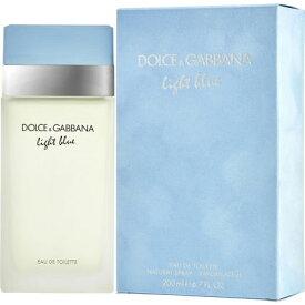 正規品【Dolce & Gabbana】Light Blue EDT 200ml WOMEN'S【ドルチェ & ガッバーナ】ライトブルーオードトワレ スプレータイプ 200ml【香水・フレグランス:フルボトル:レディース・女性用】【D&G香水】【ライトブルー 香水】