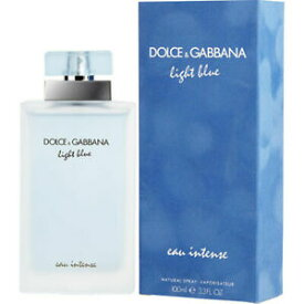正規品【Dolce & Gabbana】Light Blue Eau Intense EDP SP 100ml WOMEN'S【ドルチェ & ガッバーナ】ライトブルー オーインテンス オードパルファム スプレータイプ 100ml【香水・フレグランス:フルボトル:レディース・女性用】【D&G香水】