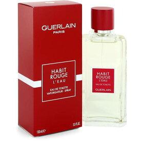 正規品【GUERLAIN】Habit Rouge L'eau EDT・SP 100ml for Men【ゲラン】アビ ルージュ オー オードトワレ 100ml【香水・フレグランス:フルボトル:メンズ・男性用】【アビ ルージュ オー】