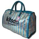 ★あす楽・送料無料★【KITSON】『キットソン』KHB0331 ボストンバッグ(Blue)ブルー【旅行用バッグ】LA本店から直輸入…