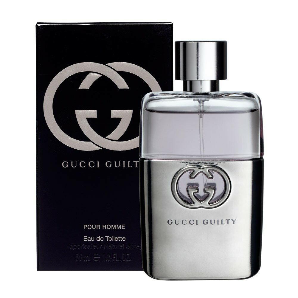 正規品【GUCCI】Gucci Guilty POUR HOMME EDT SP 50ml MEN'S【グッチ】グッチ ギルティ プールオム EDT SP・ 50ml [香水・フレグランス:フルボトル:メンズ・男性用]