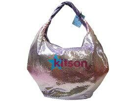 ★あす楽★セレブ御用達ブランド★正規品【KITSON】『キットソン』KHB0186[シークインハンドバッグ]kitsonの新作、定番モデル 、スパンコール、ネオンカラーのバッグ【キッドソン バッグ 安い】レディースバッグ/ショルダーバッグ