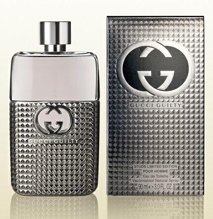 正規品【GUCCI】Gucci Guilty Stud EDT SP 90ml MEN'S(Limited Edition)【グッチ】ギルティ スタッド プールオム EDT・SP 90ml [香水・フレグランス:フルボトル:メンズ・男性用]