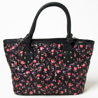Savoy bags (Savoy tote bag) black small floral tote bag wrapping cannot be