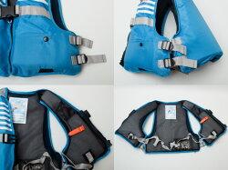 ファインジャパンライフジャケットジュニアフローティングベスト子供用FV61162017-2018モデルFINEJAPAN救命胴衣笛付き