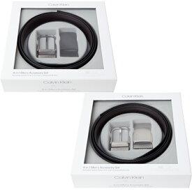 カルバン・クライン ベルト Calvin Klein メンズ 本革 ベルトセット リバーシブル 74140