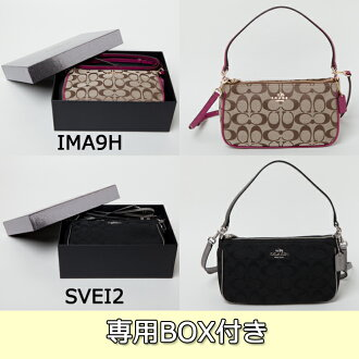 Coach COACH bag (shoulder bag) gift BOX with luxury 12 CM signature top handle cross-body f36618 bags bags small porch