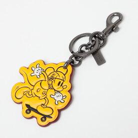 コーチ アクセサリー キーホルダー コーチ×ディズニー コラボ ミッキーマウス クラシック バッグ チャーム キーリング f59869