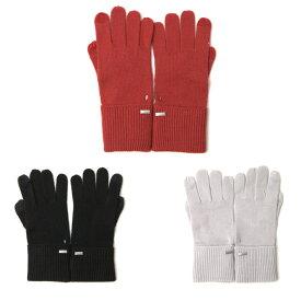 コーチ 手袋 COACH エンボス シグネチャー ニット タッチ グローブ 手袋 タッチパネル対応 f34259