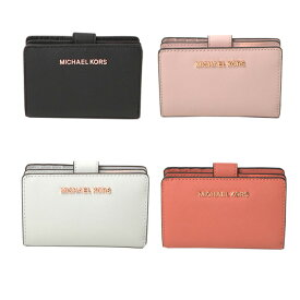 マイケルコース MICHAEL KORS 財布 JET SET TRAVEL BIFOLD ZIP WALLET 二つ折り 35t9rtvf2l