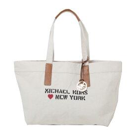マイケルコース トート バッグ MICHAEL KORS CITY TOTE XL TOTE 35t7mt2t6c/NY 限定 ナチュラル トート ラッピング不可