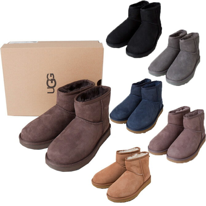 UGG アグ 靴 ブーツ CLASSIC MINI カジュアル レディース ムートン ショート ブーツ 1016222 ラッピング不可