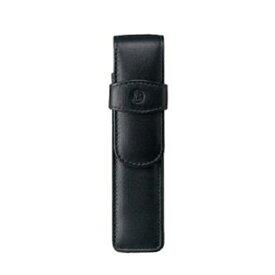ペリカン Pelikan レザー ペンケース 2本用 TG-21 ブラック 15×3.5cm