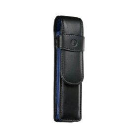 ペリカン Pelikan レザー ペンケース 2本用 TG-23N ブラック×ブルー 15×3.5cm
