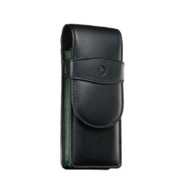ペリカン Pelikan レザー ペンケース 3本用 TG-32N ブラック×グリーン 15×5.7cm