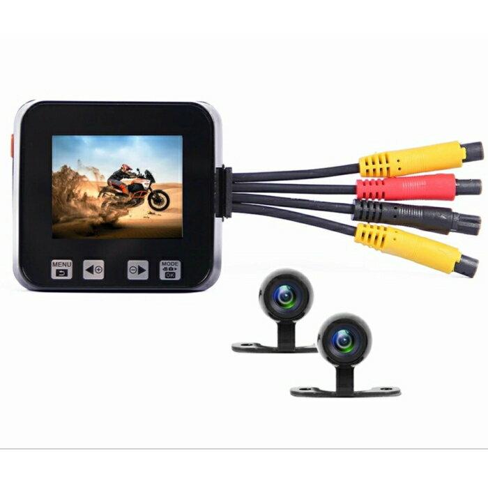 C6 バイク専用ドライブレコーダー GPSトラッカー・リモコン付き 防水前後カメラ 同時録画 120度広角 130画素 ループ録画 G-センサー 日本語操作 日本語取説