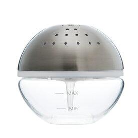 【アウトレット品】arobo アロボ watering air refresher CLV-1900-M-SV シルバー 空間清浄機 対応畳数4畳 空気清浄機 アロマ 癒し LED 間接照明 インテリア