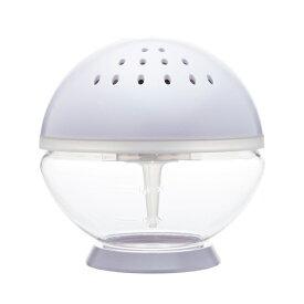 arobo アロボ watering air refresher CLV1800-M-QPWH 空間洗浄機 ホワイト(ソリューション無し) 対応畳数約4畳 空気清浄機 アロマ アロマオイル LEDライト 間接照明
