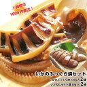 【父の日 ギフト】【いかのふっくら焼2袋】珍味【イカわたルイベ漬50g×2袋】日本海の国産いか。酒の肴(つまみ)にいか焼きと肝(ゴロ…