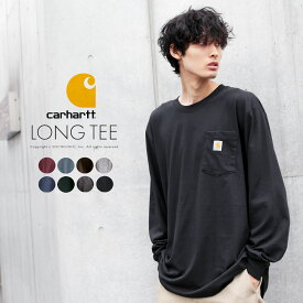 カーハート carhartt POCKET LONG TEE メンズ トップス 長袖 Tシャツ T-Shirt ポケット 秋 冬 2019fw トレンド メンズファッション
