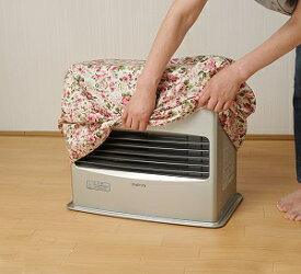 【送料無料】すっぽりストーブカバー ローズ柄 ファンヒーター 暖房 収納 ほこり ホコリ 汚れ