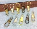 ● 金具 板ナスカン 丈25mm 20個入り 尾内径4.5mm 持ち手 キーホルダー カン