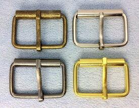 ● クラフト金具 管 バックル 内径32mm 線径3mm 10個入り 鉄製 アンティーク 管美錠 バッグに アンティークゴールド (真鍮古美) ニッケル ゴールド 黒ニッケル マットゴールド 新色入荷