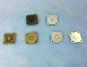 「縫10」 マグネットホック 縫い付けタイプ 直径10mm 10個入り マグネットボタン 定番 クラフト金具 バッグ留め具 四つカン 磁石 スナップ