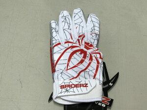 SPIDERZスパイダーズ 野球 バッティング手袋 バッティンググローブ 両手組 ハイブリッド SPIDERZ HYBRID日本未発売!アメリカ直輸入 限定品ホワイト・レッド