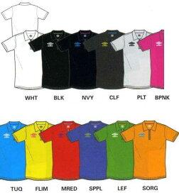 アンブロ (UMBRO) ワンポイントドライポロ S/S シャツ 半袖TシャツUSC7154