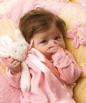 赤ちゃんの安心毛布ミニサイズ