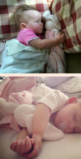 赤ちゃんの安心毛布親子セット