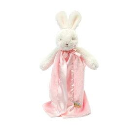 アウトレット☆赤ちゃんの安心毛布☆ミニサイズ☆うさぎピンク