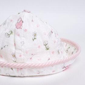 赤ちゃん帽子ハット薄手日よけ日除け新生児
