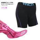 【レターパック360円OK】mcn女性専用ゲルパッド付きインナーサイクルパンツ(ES〜2XL)サイクリングパンツ・自転車サイクルウェア・サ…