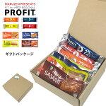 丸善PROFITギフトパッケージ(ささみプロテインバー4種+ささみ4種)スポーツ好き、アスリートへの贈り物、プレゼントに【店頭受取対応商品】
