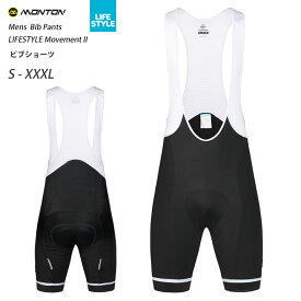 Monton[モントン]ビブショーツ LIFESTYLE Movement II(自転車用ビブパンツ)男性用メンズ 取り寄せ品【店頭受取対応商品】