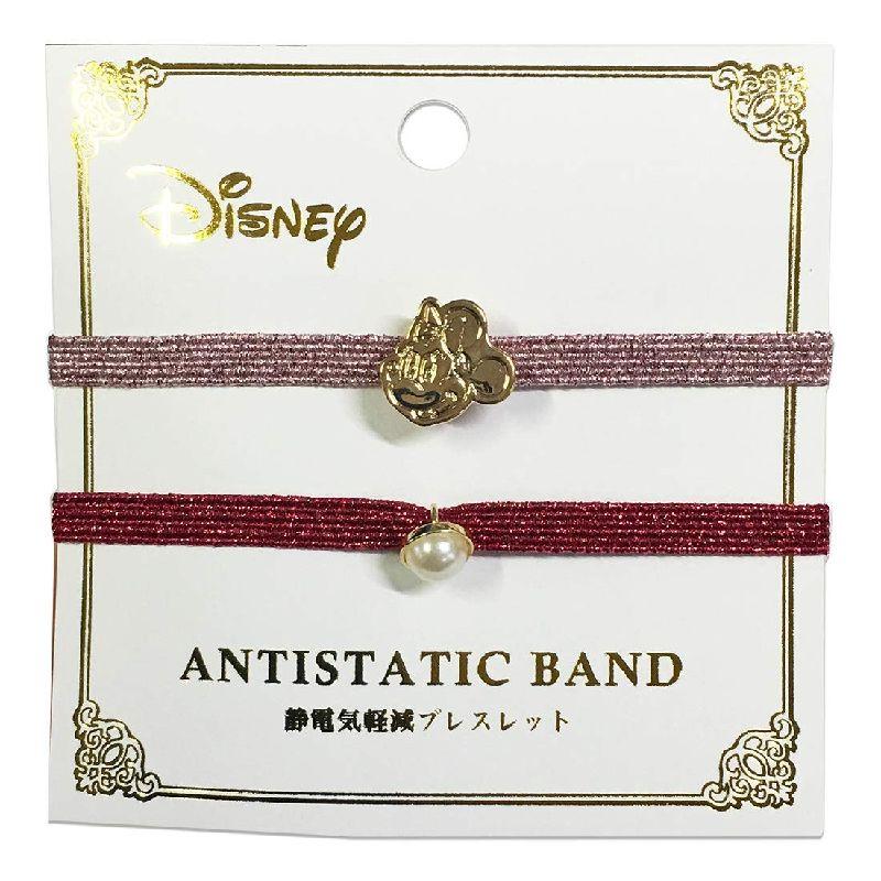 Disney ディズニー 静電気軽減 ブレス ミニーマウス フェイス APDS3762 Kiitos キートス スモール・プラネット