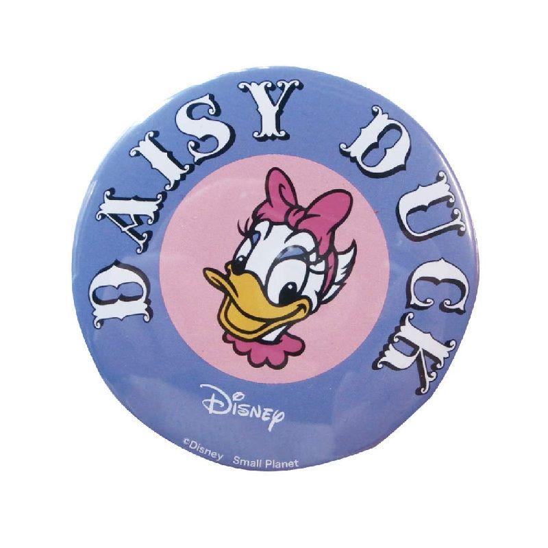 Disney ディズニー ノスタルジカ デイジーダック/ロゴ/缶バッチ(大) APDS3579 / Kiitos キートス / スモール・プラネット