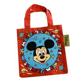 Disney ディズニー NEW ノスタルジカ ミニカラートートバッグ ミッキーマウス フェイス APDS3879N Kiitos キートス スモール・プラネット