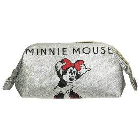 Disney ディズニー シボ合皮ワイヤーポーチ ミッキーマウス&ミニーマウス APDS3446 /Kiitos キートス / スモール・プラネット