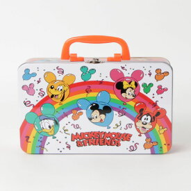 Disney ディズニー ノスタルジカ ブリキボックス レインボー APDS4166N